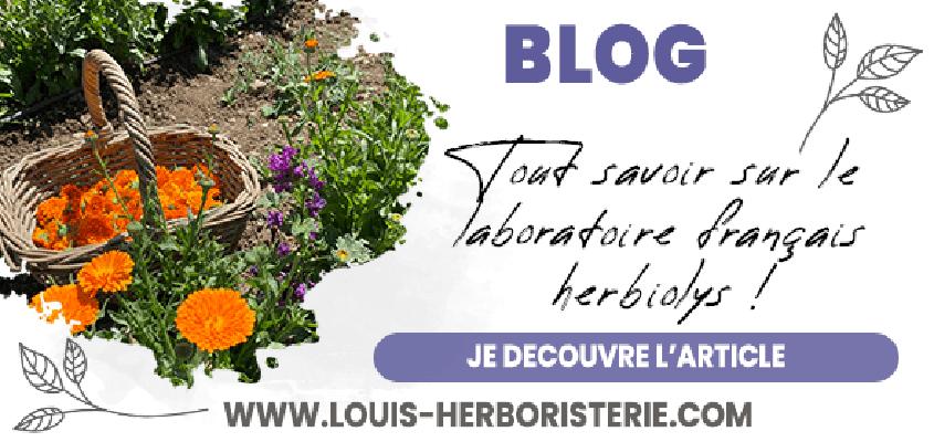 Découvrez la gamme de complexes de la marque de gemmothérapie et de phytothérapie bio française Herbiolys sur le site de Louis-Herboristerie